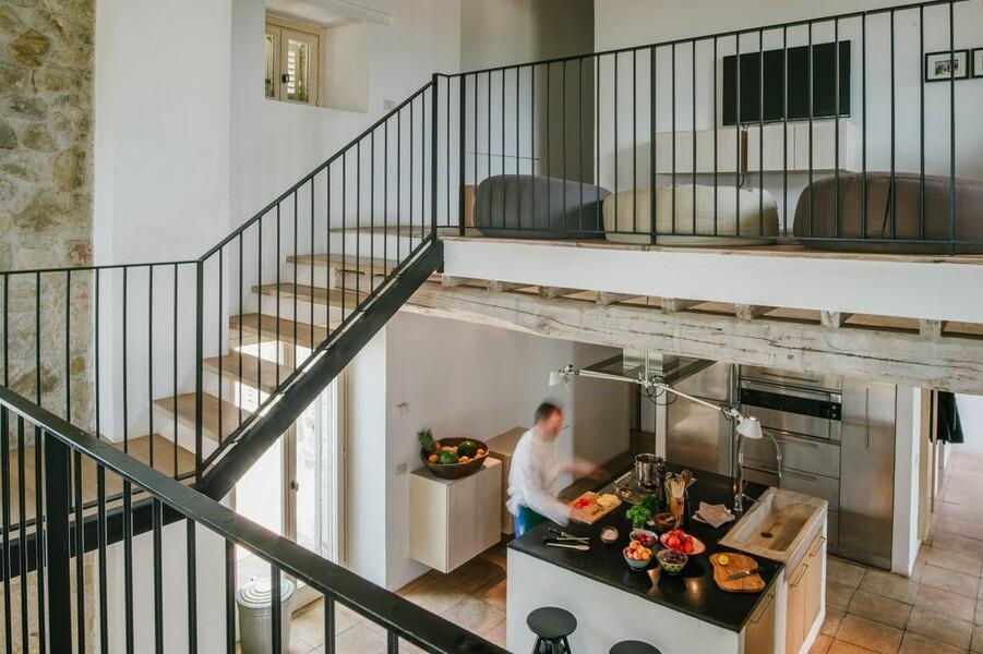 Offener und heller Wohnraum in der Casa Winther