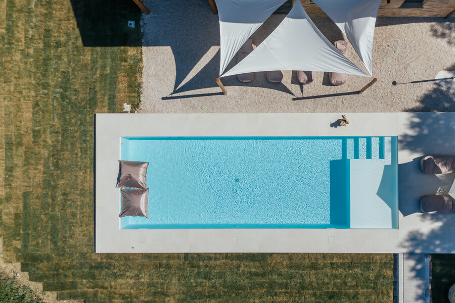 Private and heated pool in Le Marche in Casa Fontegenga