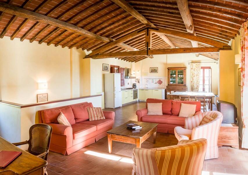 Jedes Haus des Le Casine besitzt eine Küche, die mit allen Annehmlichkeiten ausgestattet ist