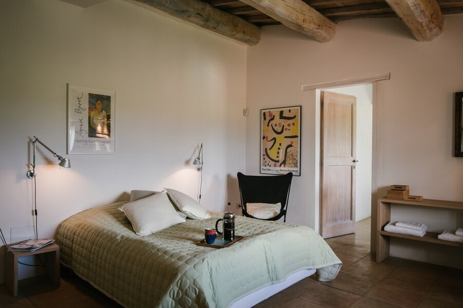 Grosses Schlafzimmer im Ferienhaus in Umbrien Casa Winther