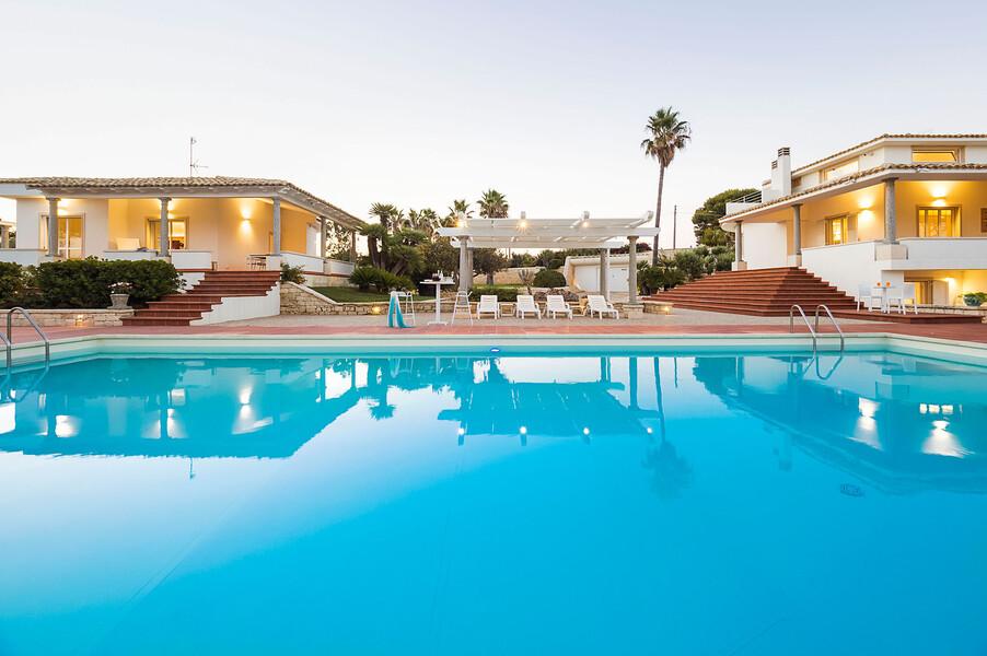 Villa Maya im Süden von Sizilien mit privatem Pool