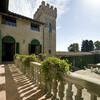 Historische Villa di Montelopio in der Toskana mit Innenhof