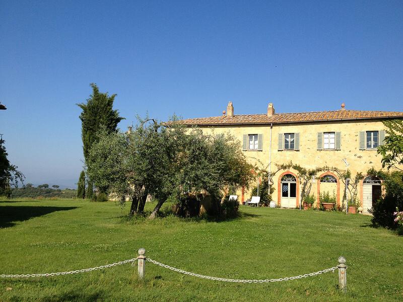 Einmalig schön gelegen ist die Villa Fontanelle ein Juwel in der Toskana