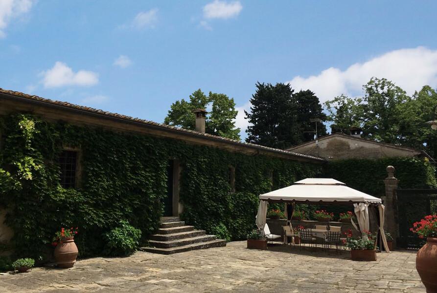 villa di Montelopio gazebo 3