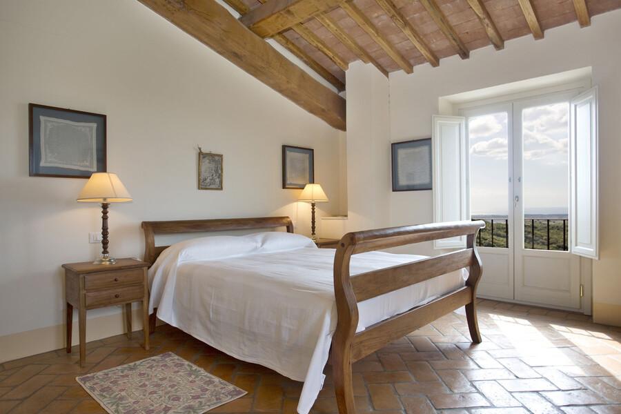 Erholsamen Schlaf bieten die insgesamt 11 Schlafzimmer im La Lepraia