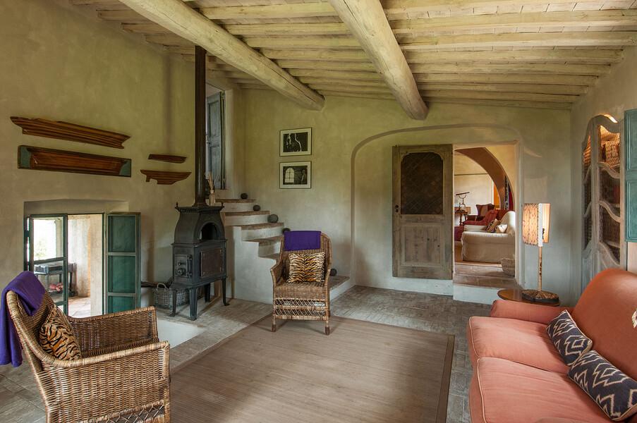 Die einmalige Inneneinrichtung der Villa Fontanelle wurde bereits in vielen Fachmagazinen beschrieben