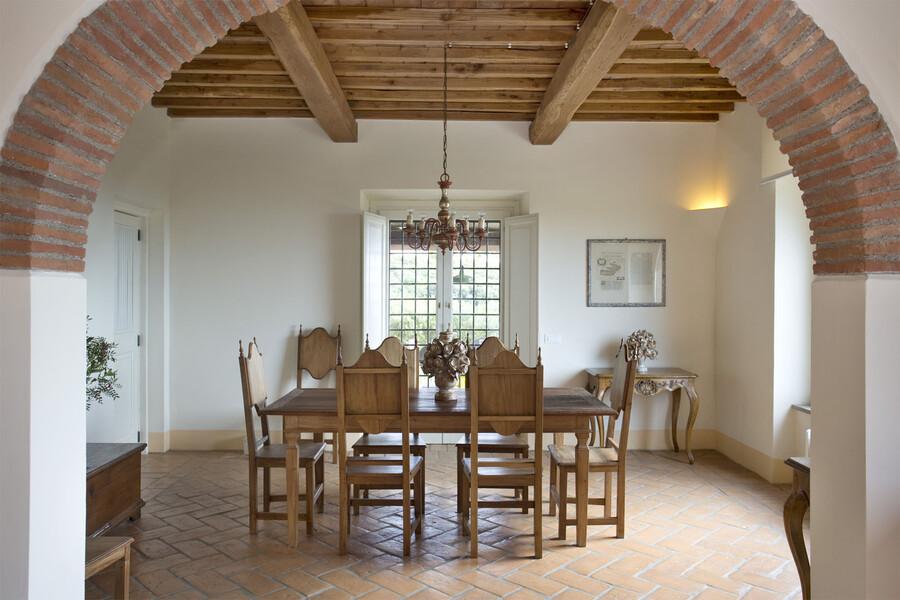 Die einzelnen Häuser der Ferienanlage La Lepraia bieten die Möglichkeit, auch in kleinerer Runde Zeit miteinander zu verbringen