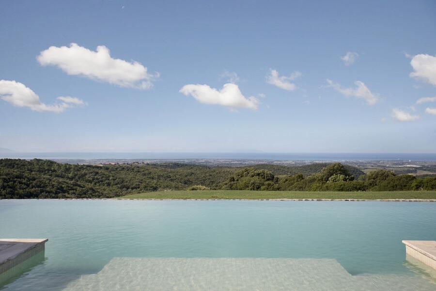 Der Pool unserer Ferienvilla bei Marrema ist 16x8 Meter groß