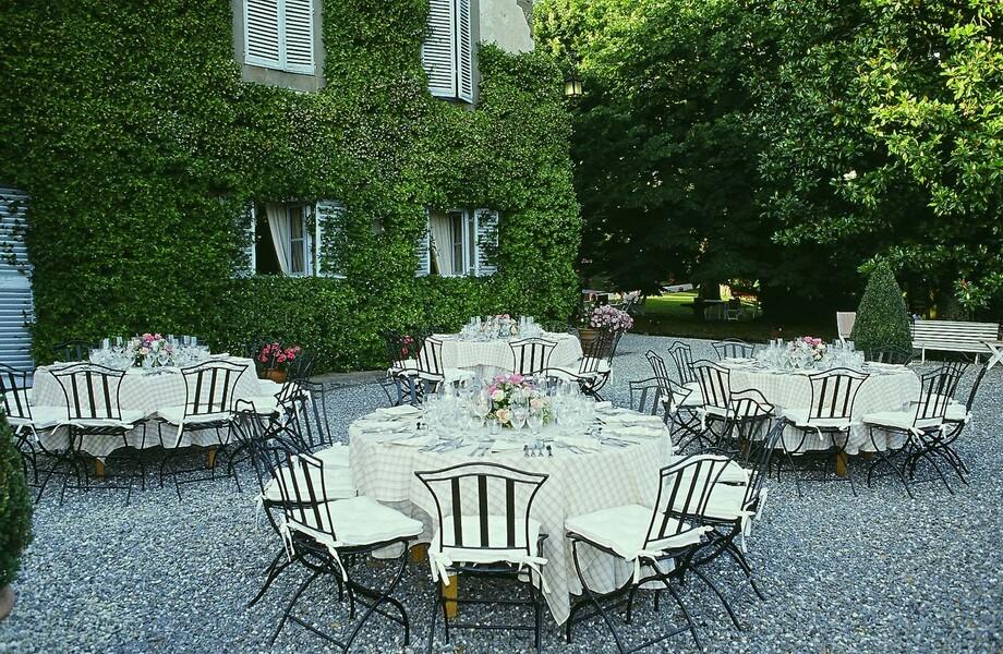 Das Le Casine bietet die Möglichkeit mit einer großen Gruppen einen Urlaub in der Toskana zu genießen