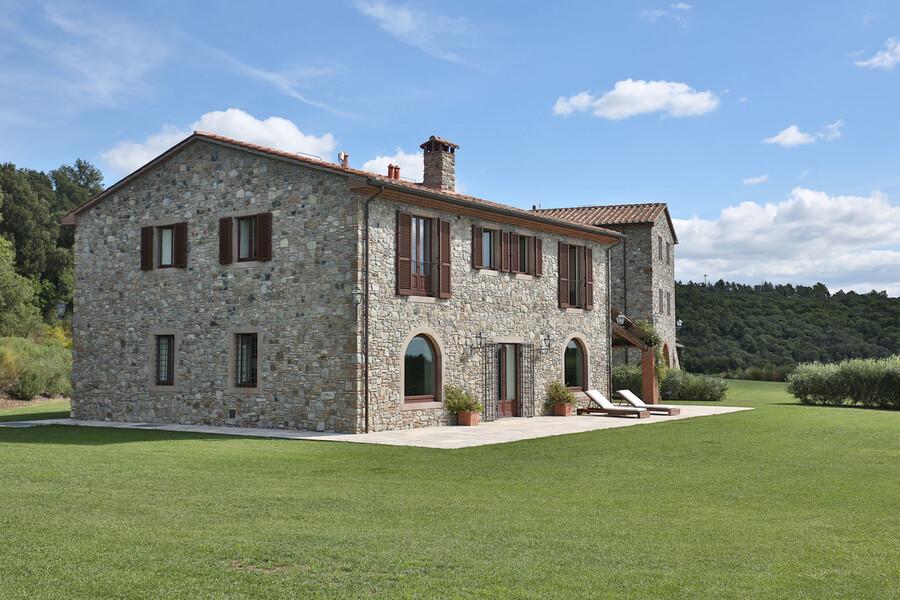 Klassische Architektur trifft im La Lepraia auf modernste Ausstattung
