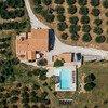Alleinstehendes Ferienhaus in Umbrien Casa Winther inmitten von Olivenbäumen