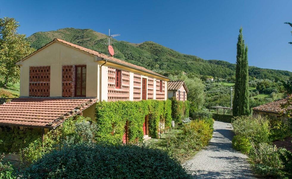 Das Ferienhaus Le Casine liegt in herrlicher Lage mitten in den toskanischen Hügeln