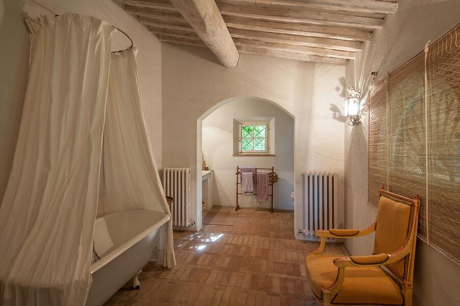 Auch die Bäder im Haus Fontanelle sind exklusiv eingerichtet
