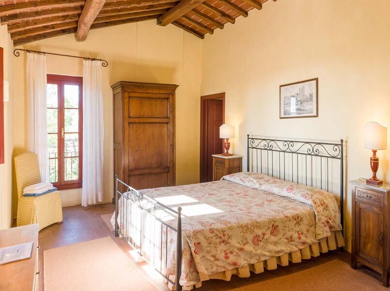 Zu einem perfekten Urlaub gehört auch ein erholsamer Schlaf - diesen bieten unsere 17 Schlafzimmer im Le Casine