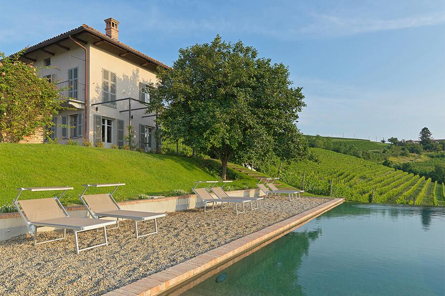 Das Ferienhaus Casa Moscato mit privatem Pool im Piemont